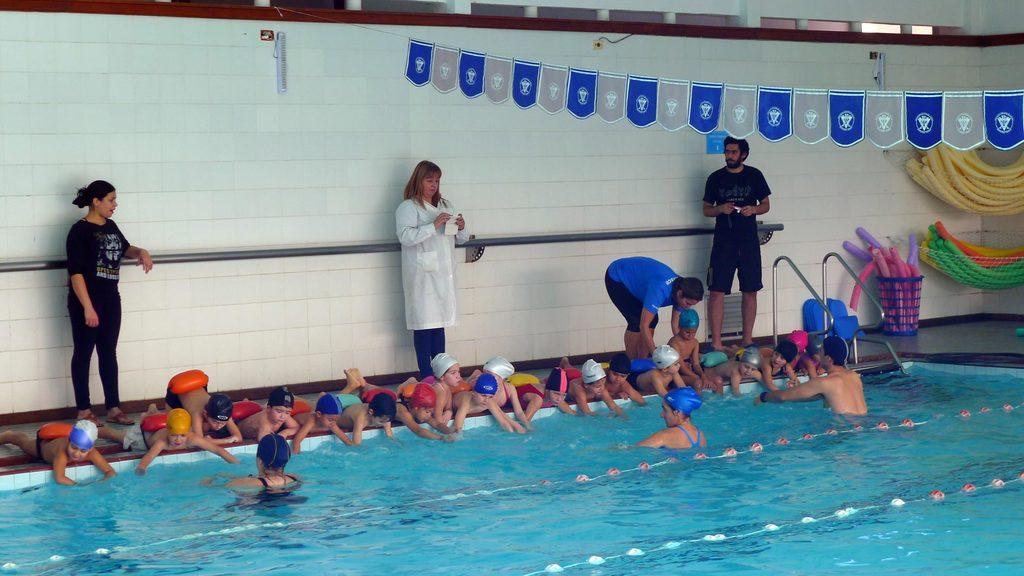 Actividades acuáticas para niños de nivel inicial